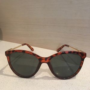 Anthropologie printed sunglasses